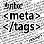 متا تگ نویسنده در سند HTML