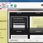 تعیین موضوع قالب فرم در web form builder