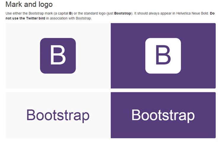 علامت تجاری Bootstrap