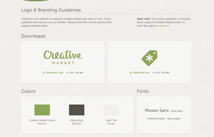 علامت تجاری Creative Market