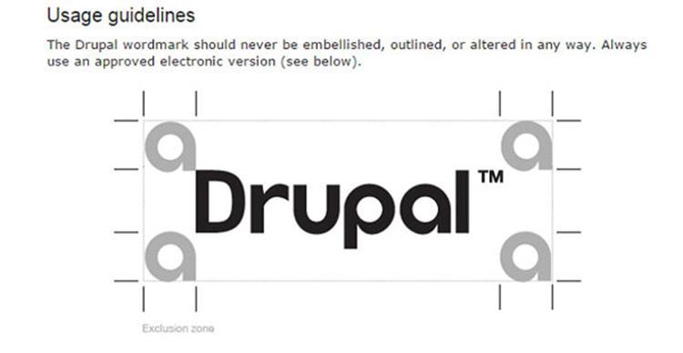 علامت تجاری Drupal