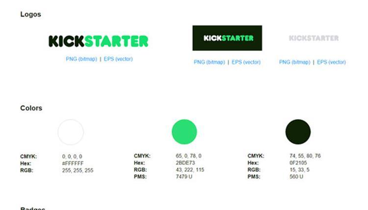 علامت تجاری Kickstarter