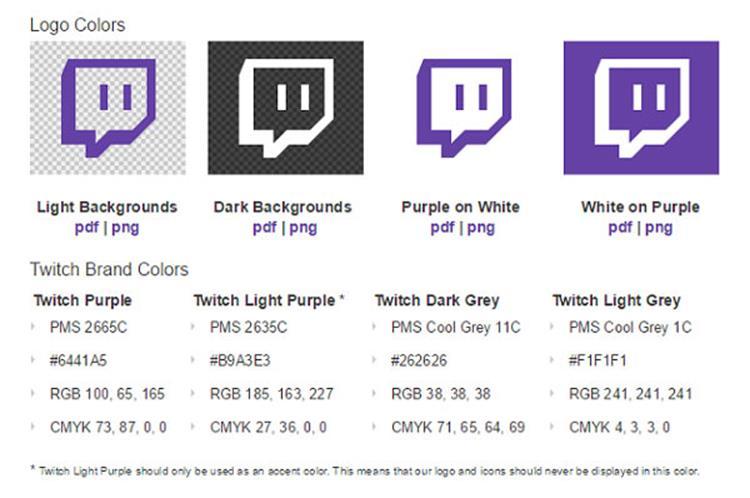 علامت تجاری Twitch