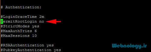 غیرفعال کردن ورود کاربر root به سرور لینوکس