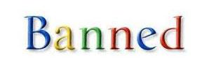 بن شدن سایت با گوگل
