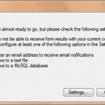 انتشار فرم در Web Form Builder