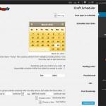 افزونۀ Drafts Scheduler